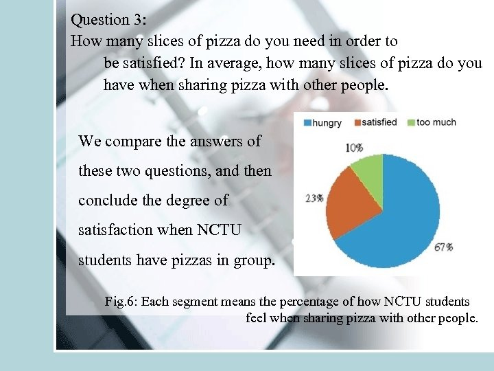 Question 3: How many slices of pizza do you need in order to be