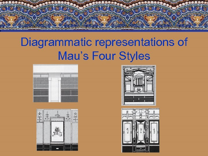 Diagrammatic representations of Mau's Four Styles