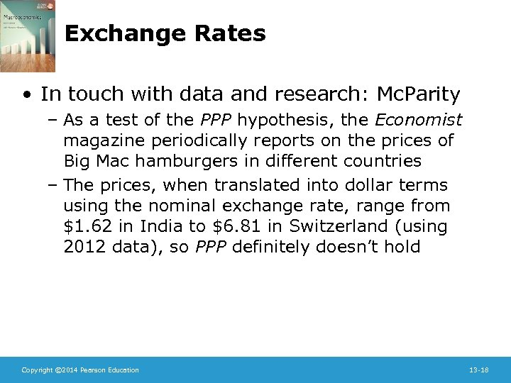 Exchange Rates • In touch with data and research: Mc. Parity – As a