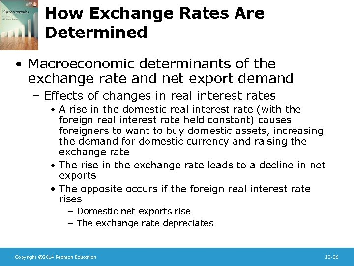 How Exchange Rates Are Determined • Macroeconomic determinants of the exchange rate and net