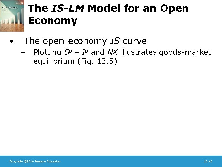 The IS-LM Model for an Open Economy • The open-economy IS curve – Plotting