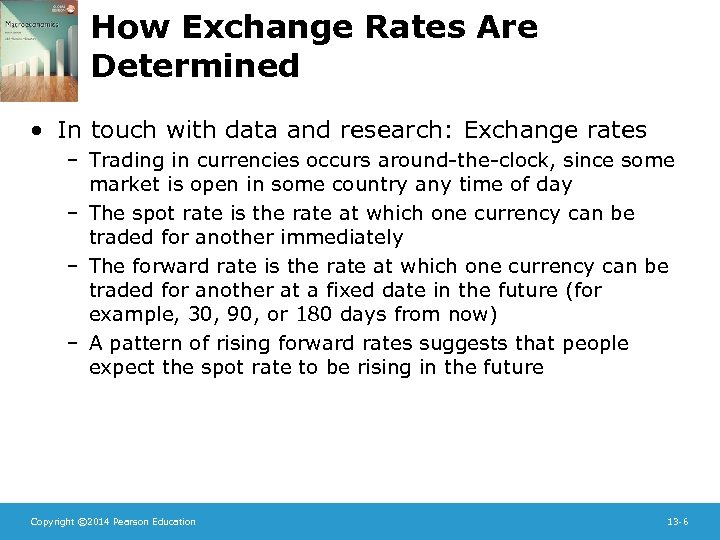 How Exchange Rates Are Determined • In touch with data and research: Exchange rates