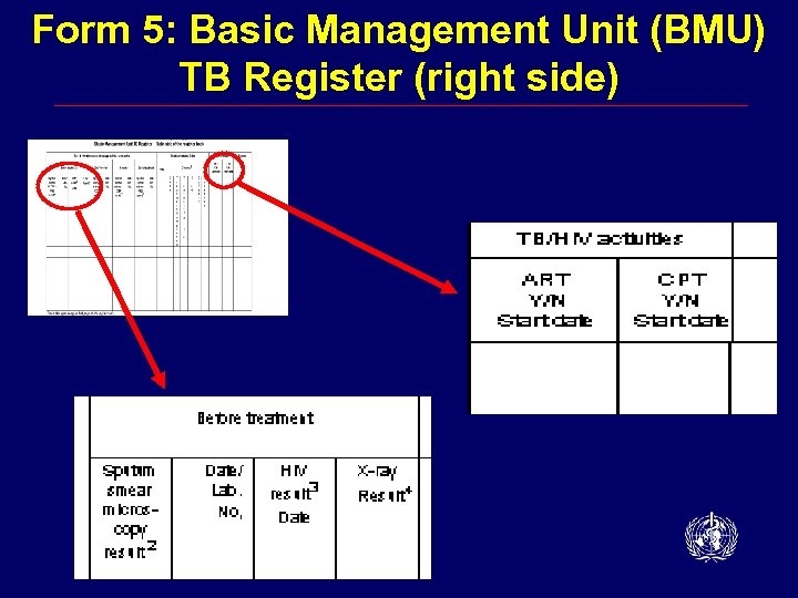 Form 5: Basic Management Unit (BMU) TB Register (right side)