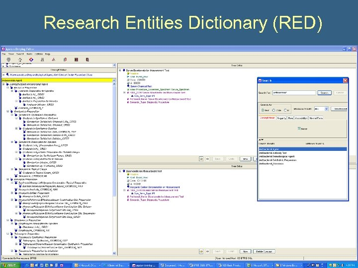 Research Entities Dictionary (RED)