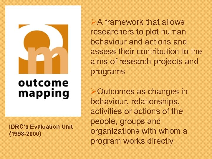 ØA framework that allows researchers to plot human behaviour and actions and assess their