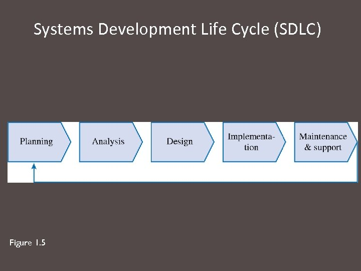 Systems Development Life Cycle (SDLC) Figure 1. 5