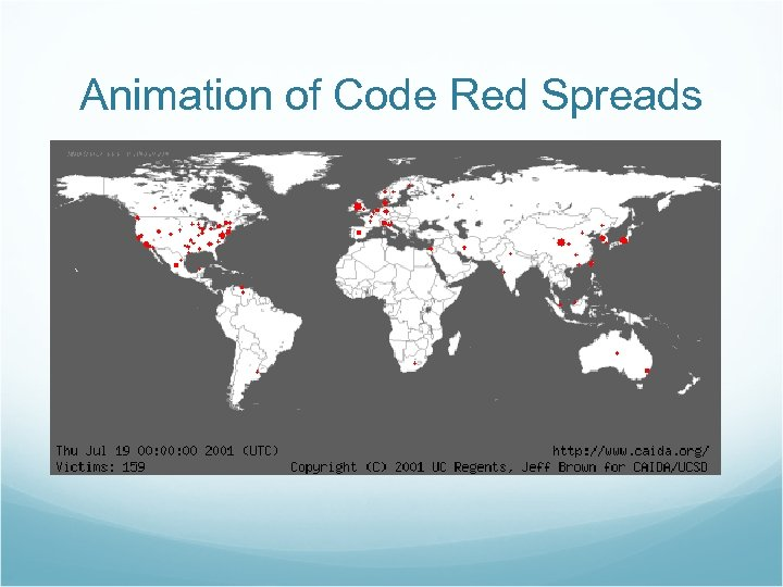 Animation of Code Red Spreads