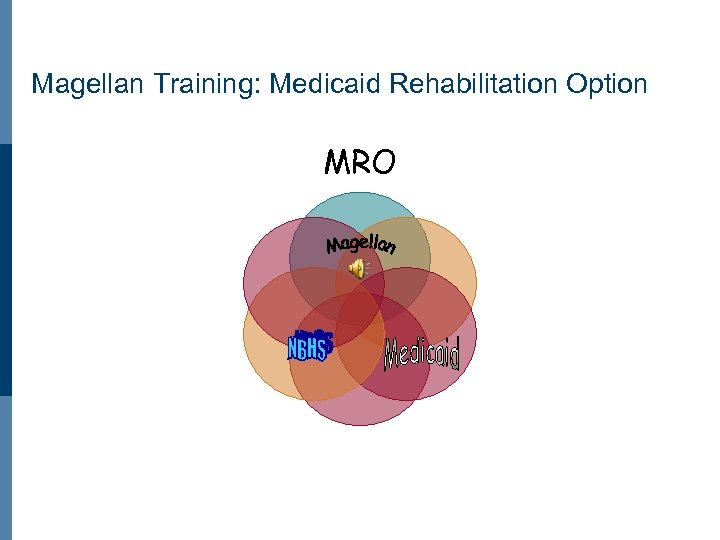 Magellan Training: Medicaid Rehabilitation Option MRO