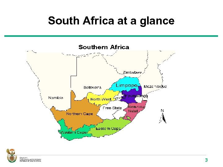 South Africa at a glance 3