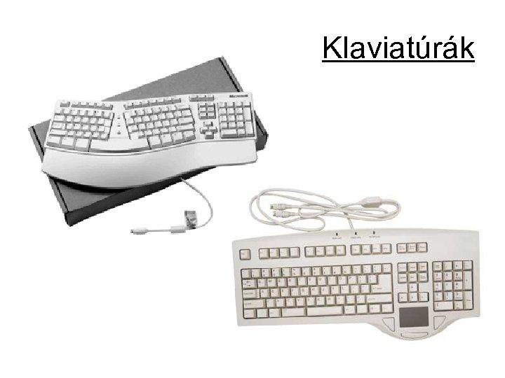 Klaviatúrák