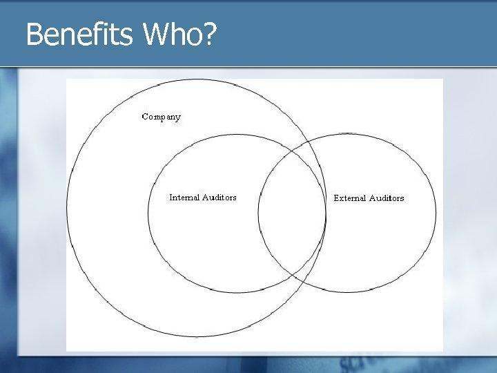 Benefits Who?