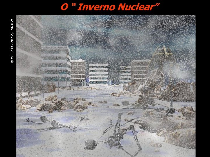 "© 1996 -2001 Game. Spy Industries. O "" Inverno Nuclear"""