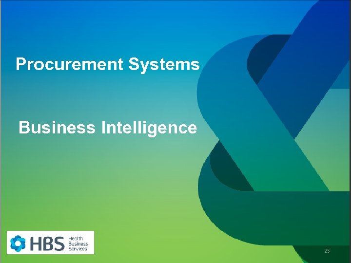 Procurement Systems Business Intelligence 25