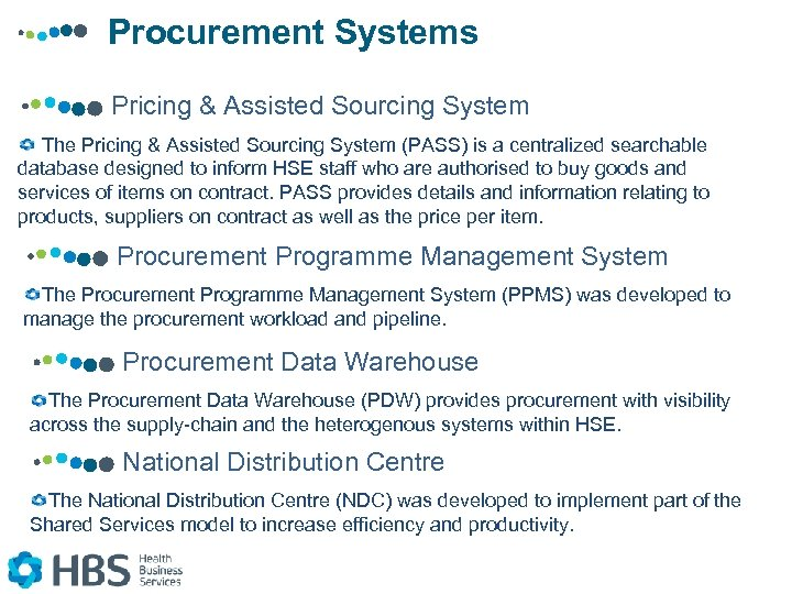 Procurement Systems Pricing & Assisted Sourcing System The Pricing & Assisted Sourcing System (PASS)