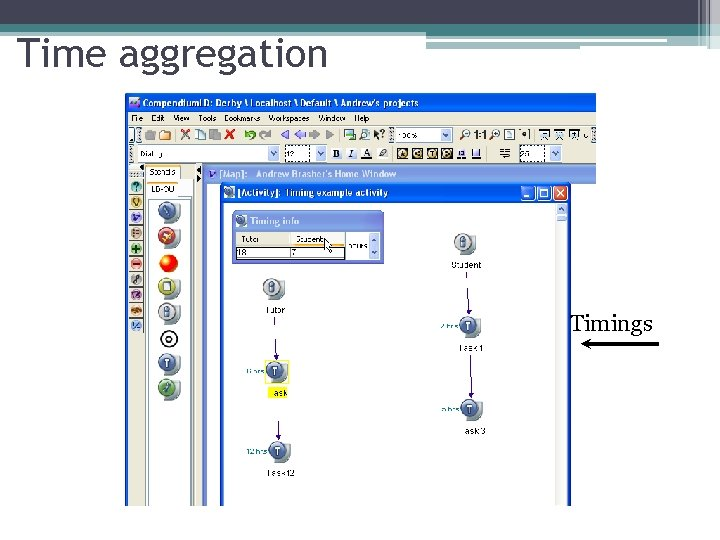 Time aggregation Timings