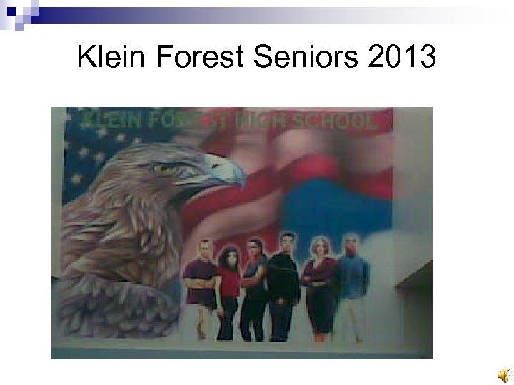 Klein Forest Seniors 2013
