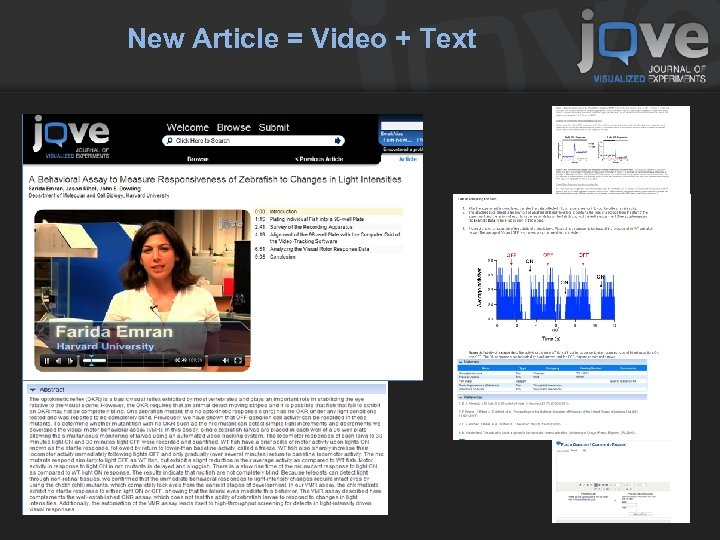New Article = Video + Text