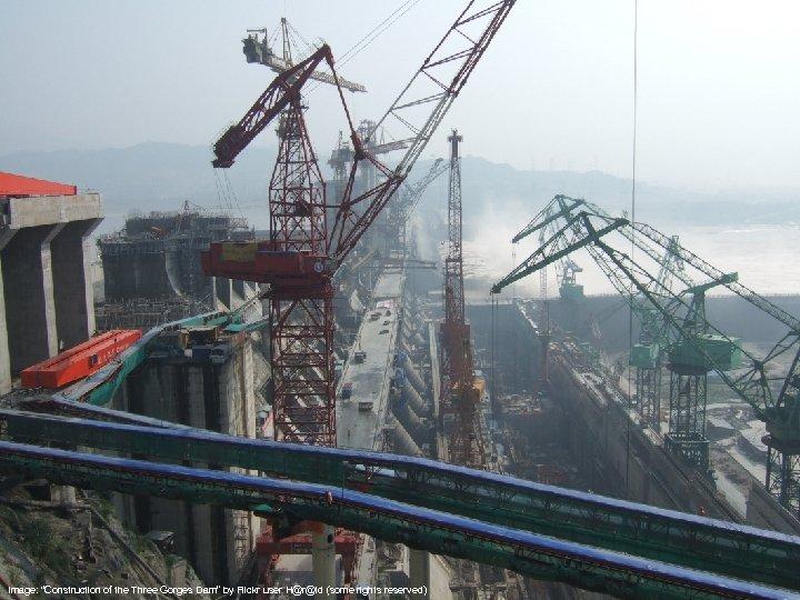 """Image: """"Construction of the Three Gorges Dam"""" by Flickr user H@r@ld (some rights reserved)"""
