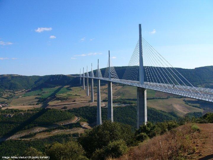Image: Millau Viaduct (in public domain)