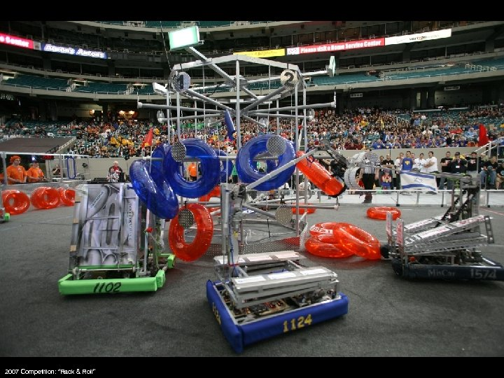"""2007 Competition: """"Rack & Roll"""""""
