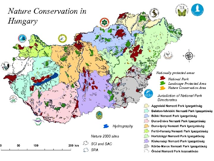 Nature Conservation in Hungary Nationally protected areas National Park Landscape Protected Area Nature Conservation