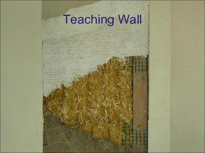 Teaching Wall
