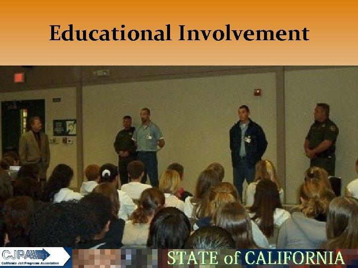 Educational Involvement 5/16/2011