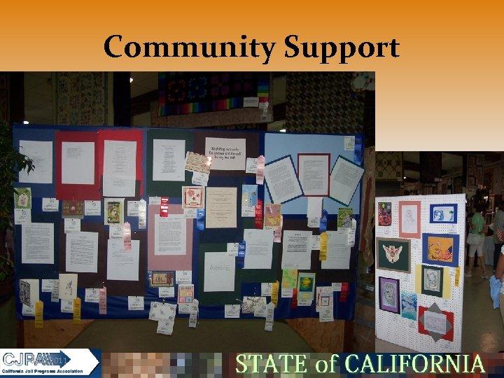 Community Support 5/16/2011