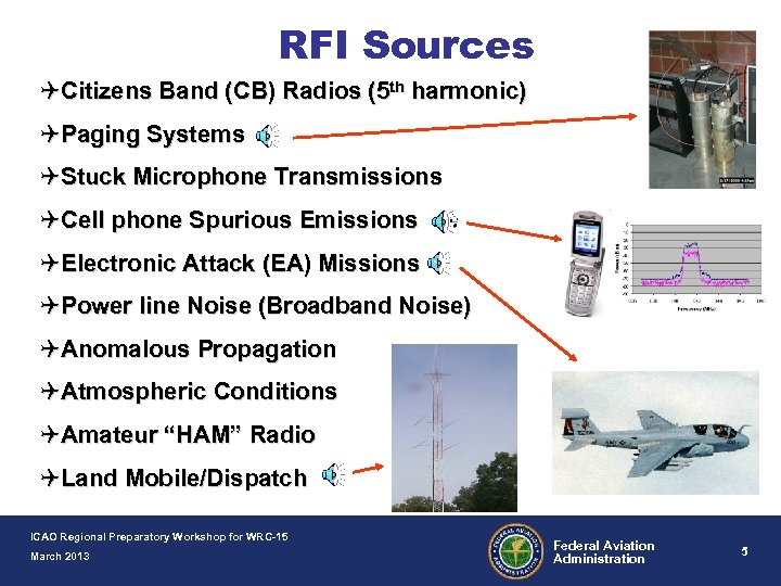 Radio Frequency Interference Regional Preparatory Workshop