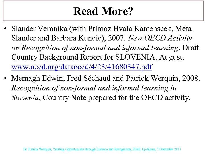 Read More? • Slander Veronika (with Primoz Hvala Kamenscek, Meta Slander and Barbara Kuncic),