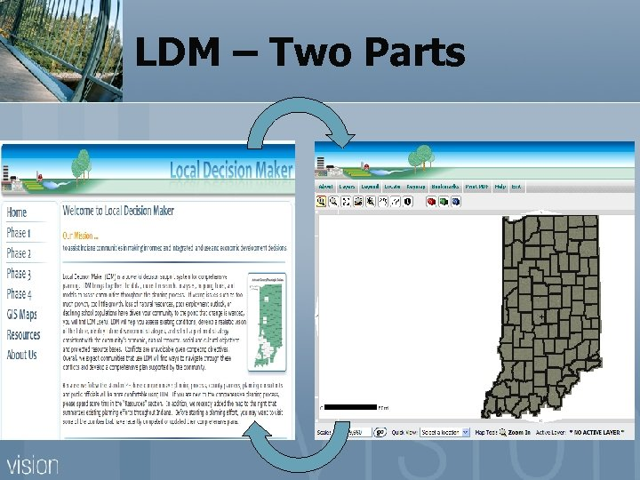 LDM – Two Parts