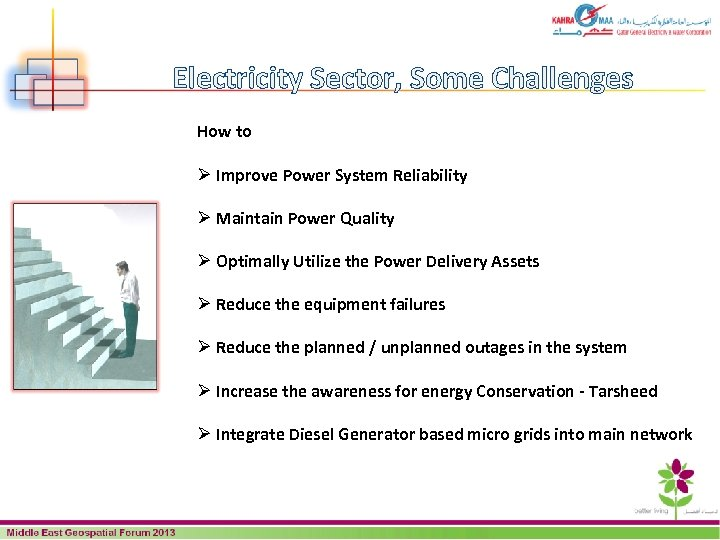 Electricity Sector, Some Challenges How to Ø Improve Power System Reliability Ø Maintain Power