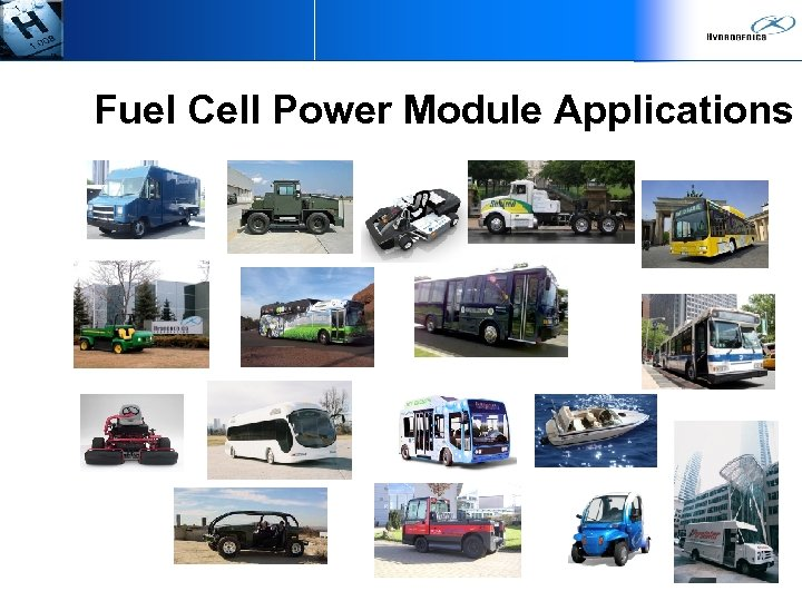 Fuel Cell Power Module Applications