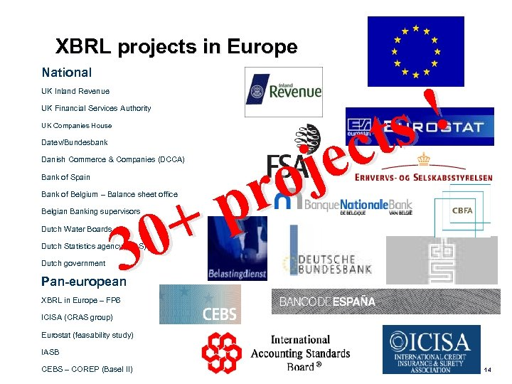 XBRL projects in Europe National UK Inland Revenue ! ts c je o r