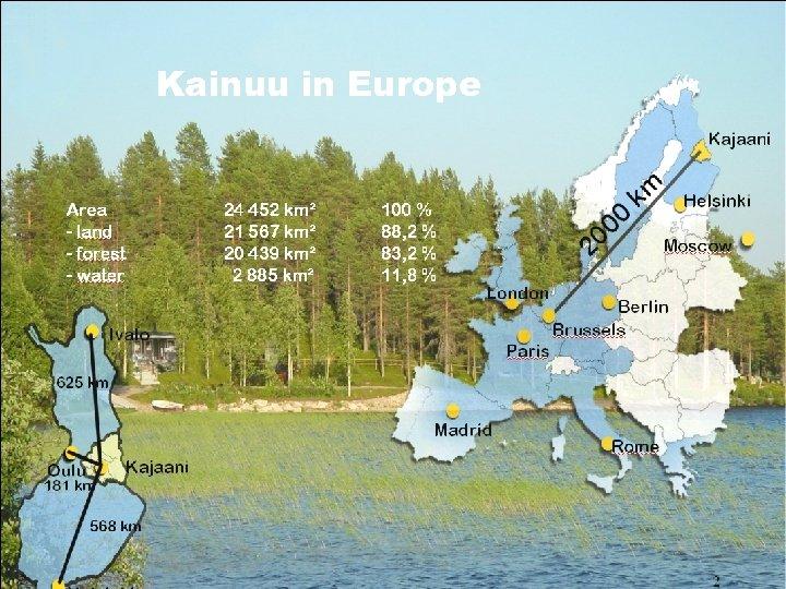 Kainuu in Europe