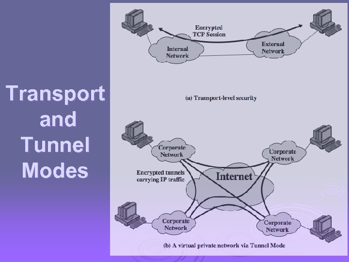 Transport and Tunnel Modes