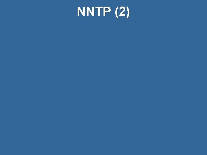 NNTP (2)