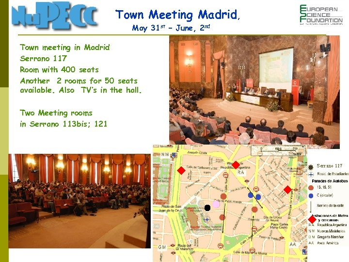 Town Meeting Madrid, May 31 st – June, 2 nd Town meeting in Madrid