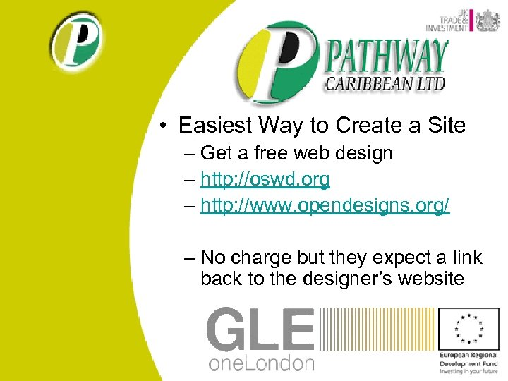 • Easiest Way to Create a Site – Get a free web design
