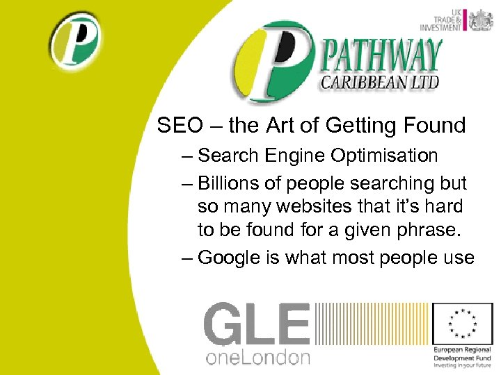 SEO – the Art of Getting Found – Search Engine Optimisation – Billions of