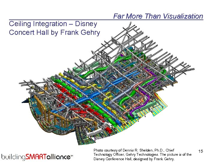 Ceiling Integration – Disney Concert Hall by Frank Gehry Far More Than Visualization Photo