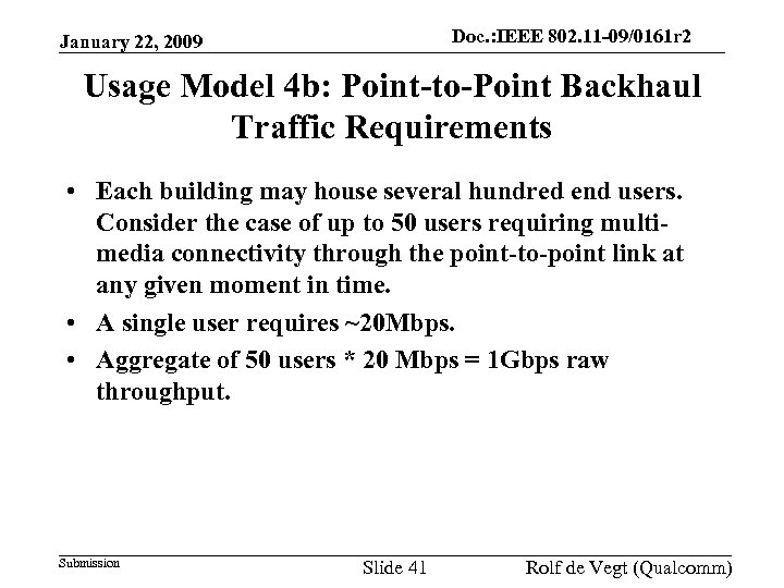 Doc. : IEEE 802. 11 -09/0161 r 2 doc. : IEEE 802. 11 -09/0161
