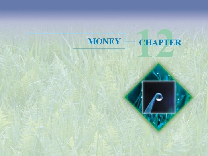 MONEY 12 CHAPTER