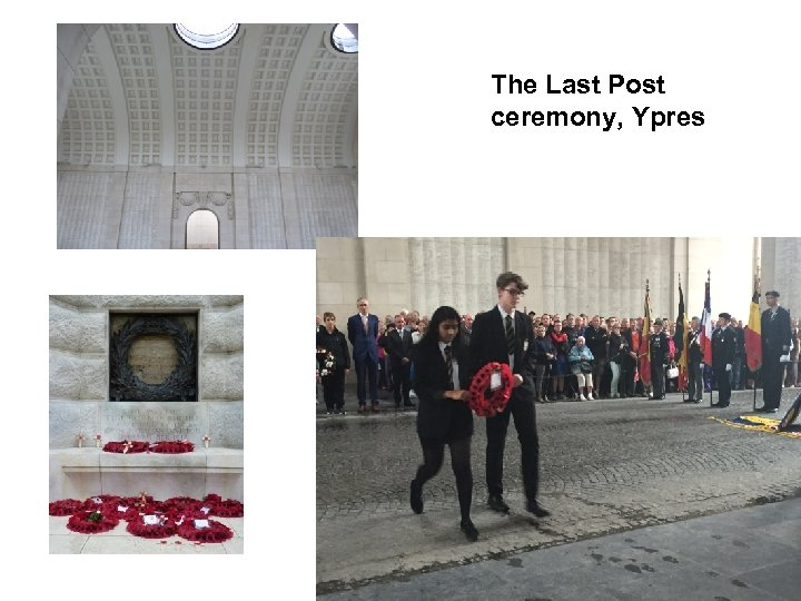 The Last Post ceremony, Ypres