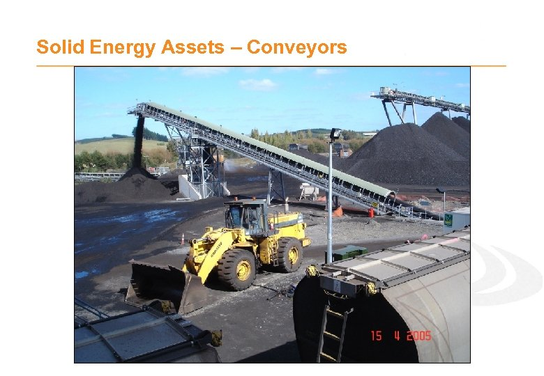 Solid Energy Assets – Conveyors