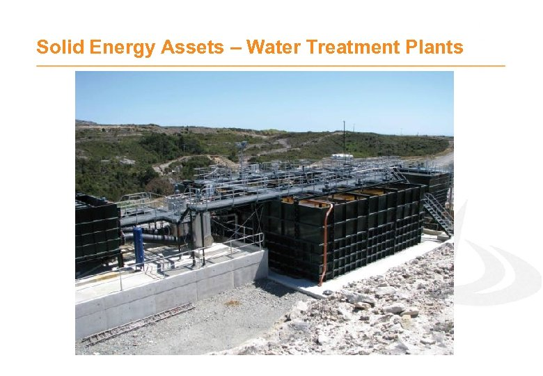 Solid Energy Assets – Water Treatment Plants