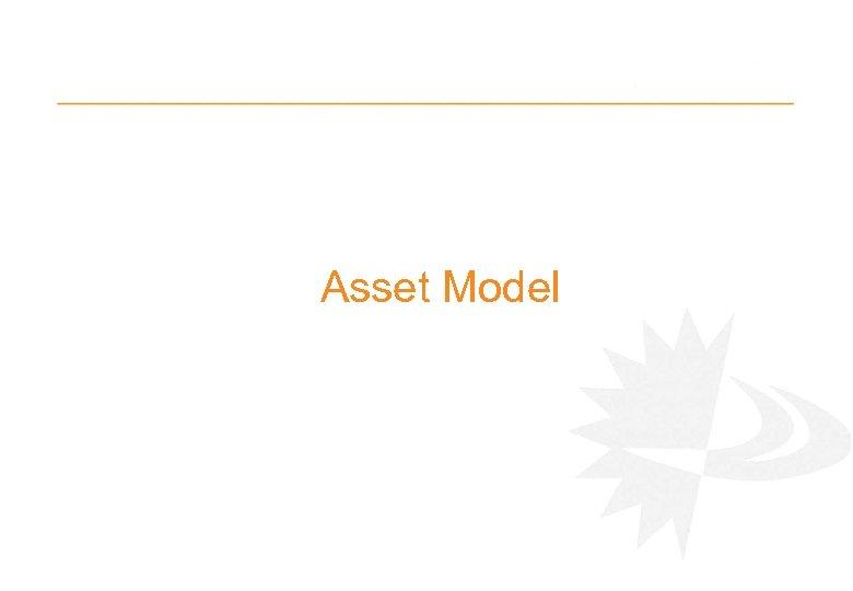Asset Model