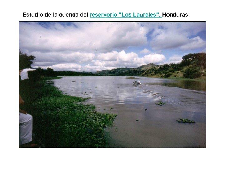 Estudio de la cuenca del reservorio