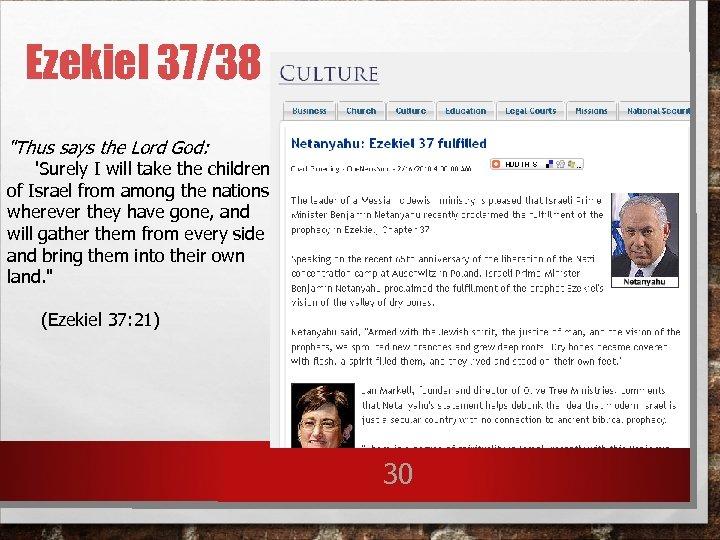 Ezekiel 37/38