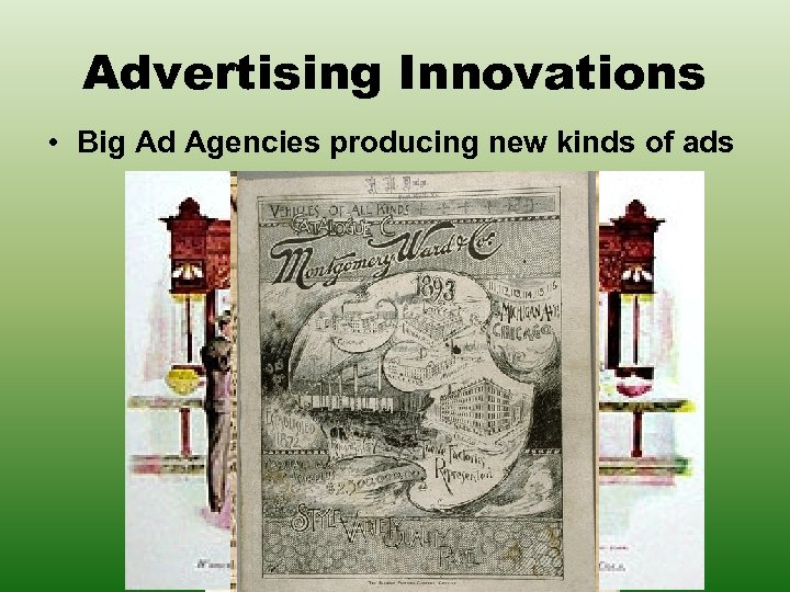 Advertising Innovations • Big Ad Agencies producing new kinds of ads